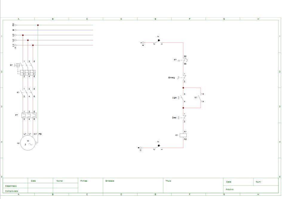 Visualização final impressão CADe SIMU