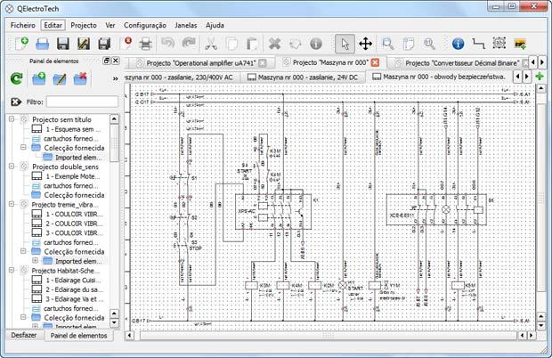 Diagrama Funcional - QElectrotech
