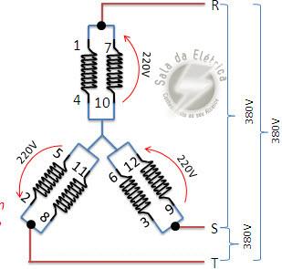 Comandos Elétricos - Fechamento Duplo Estrela