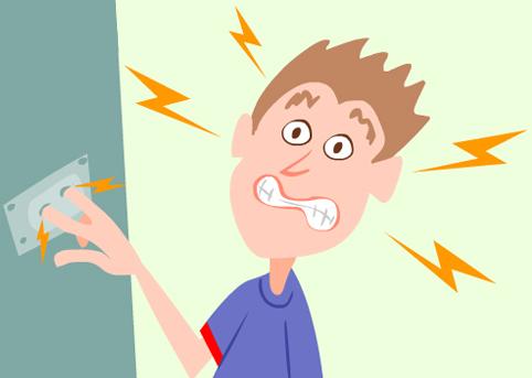 Aterramento - choque elétrico