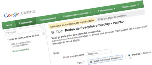 Adwords Eletricista