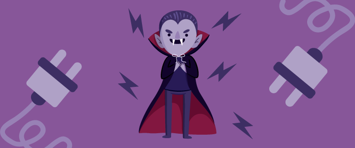 vampiros de energia elétrica