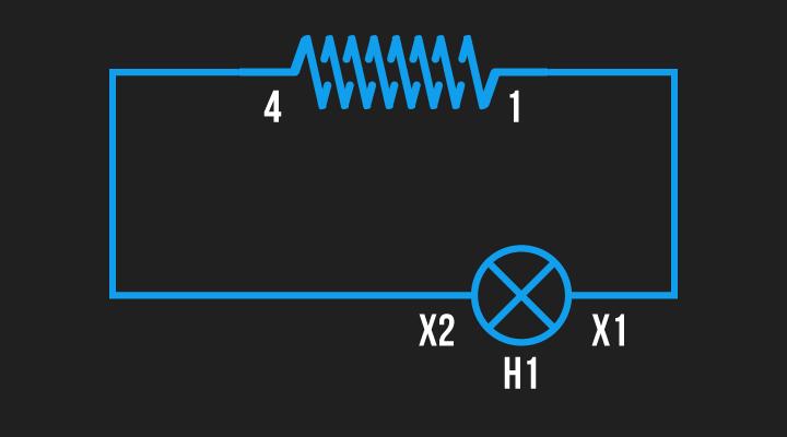ligando polaridade conjunto de bobina 1
