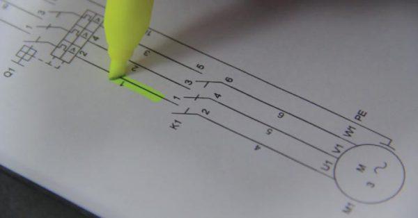 Montagem de Painéis de Comandos Elétricos Marcação