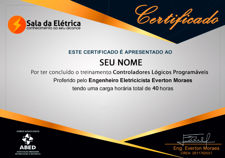 Certificado Curso de CLP