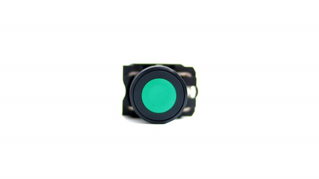 botão na cor verde