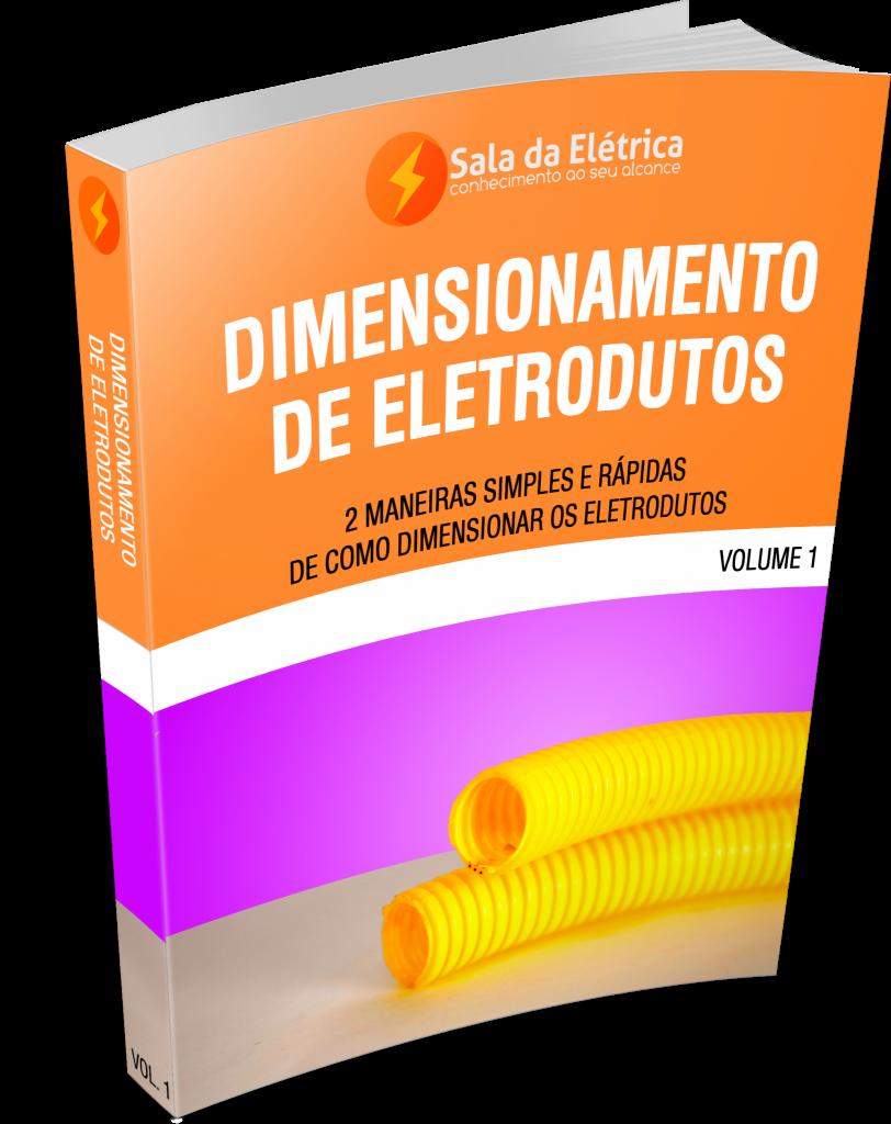Imagem ilustrativa do ebook de dimensionamento de eletrodutos