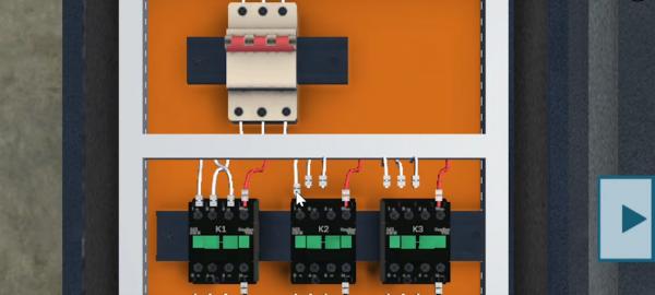 simulador pratico de comandos eletricos